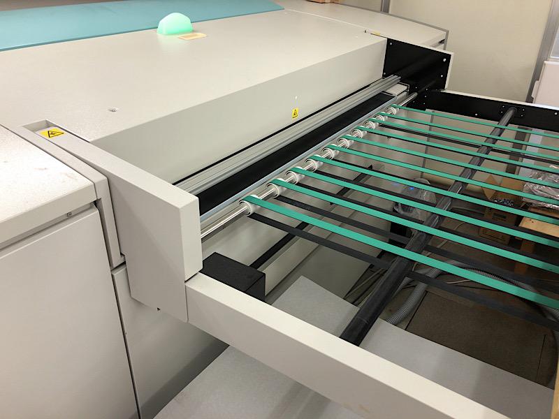 印刷に使う版 CTP