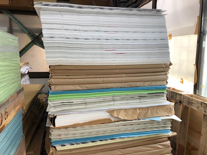 紙の表、裏
