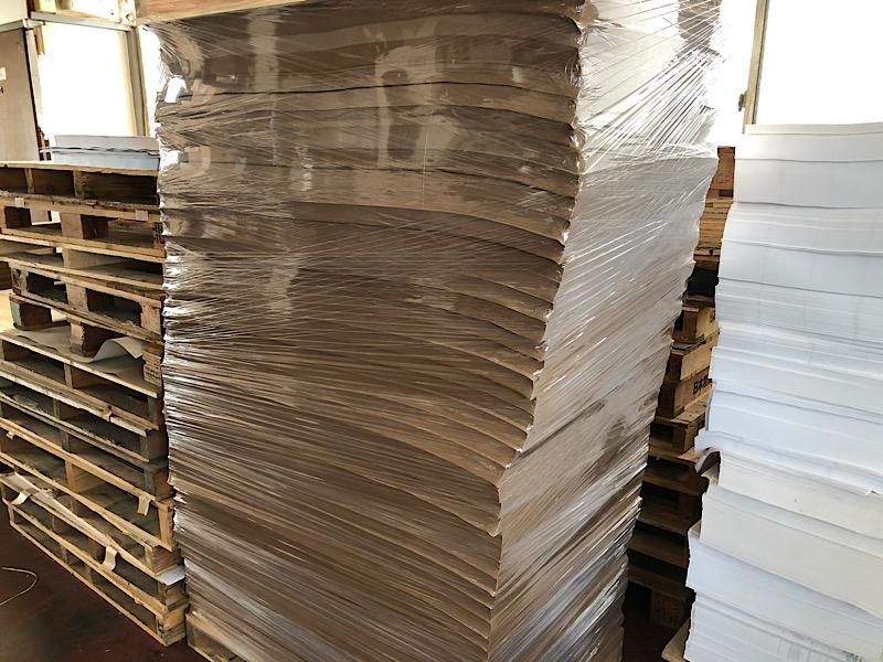 印刷用紙と湿度の関係
